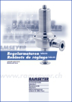 Regelarmaturen Industrie